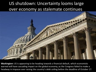 US shutdown: Uncertainty looms large over economy