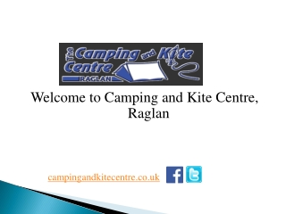 Camping Equipments and Accessories, UK