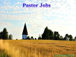 Pastor jobs