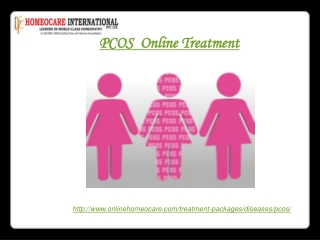 Online PCOS homeopathy treatment