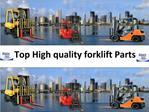 Forklift Rental Prices