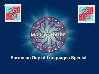 European Day of Languages Special