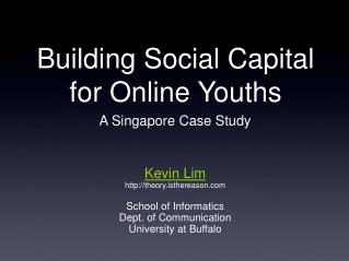 Building Social Capital 