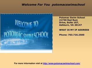 Swimming School for kids
