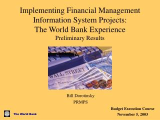 implementing financial management information system projects: