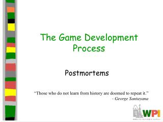 The Game Development Process