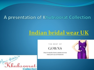 indian bridal wear uk