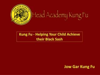 Helping Your Child Achieve their Black Sash