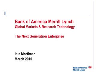 bank of america merrill lynch global markets  research technologybank of america merrill lynch