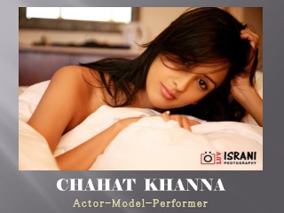 Chahat Khanna Photoshoot clicked By Luv Israni