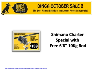 Shimano Charter fishing Rod in October Sale at Dinga !