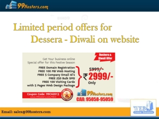Best Festive Season Offer for website designing   @ just Rs.