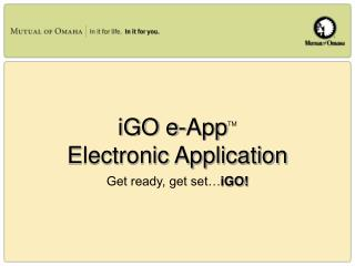 iGO e-AppTM