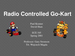 Radio Controlled Go-Kart