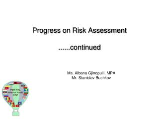 Progress on Risk Assessment 
