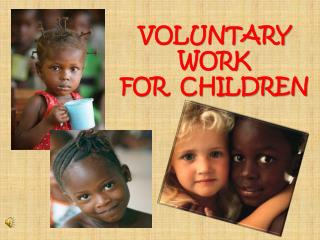 VOLUNTARY WORK 