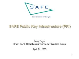 SAFE Public Key Infrastructure (PKI)