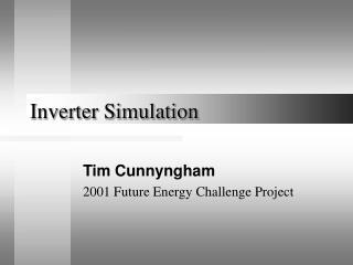 Inverter Simulation