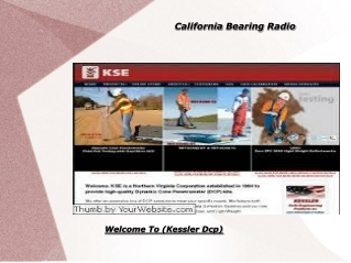 California Bearing Radio