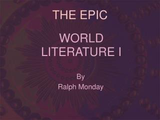 world literature i