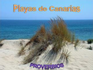 Playas de Canarias