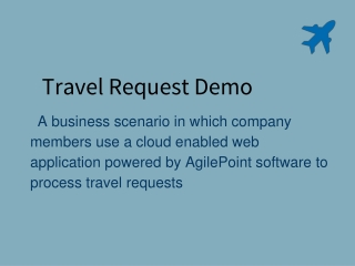 Travel Request Demo