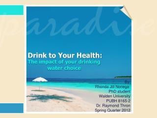 Drink to Your Health: