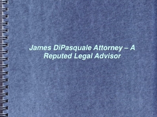 james dipasquale attorney