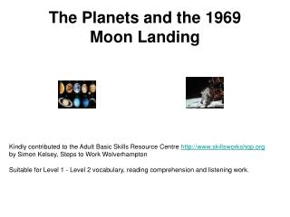 The Planets and the 1969 