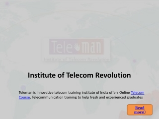 Telecommunication Courses