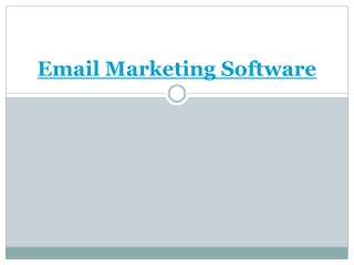 email marketing software | web design  india