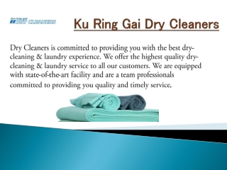 ku Ring Dry Cleaners