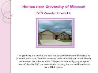 homes near university of missouri