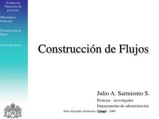 Julio Alejandro Sarmiento Sabogal - 2000