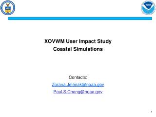 XOVWM User Impact Study