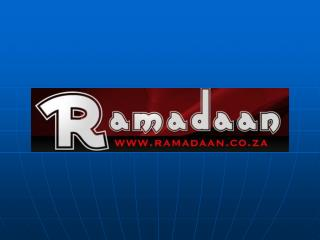 Visit ramadaan.co.za