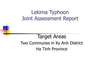 Lekima Typhoon