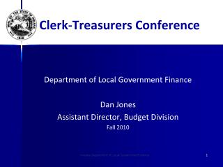 Indiana Department of Local Government Finance