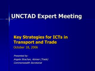 UNCTAD Expert Meeting