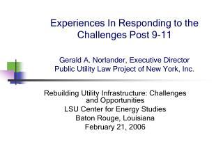 Public Utility Law Project -2-21-2006