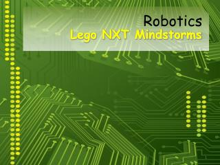 Lego NXT Mindstorms