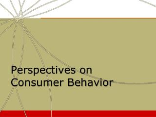Perspectives on