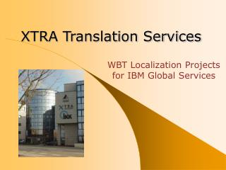 XTRA Translation Services