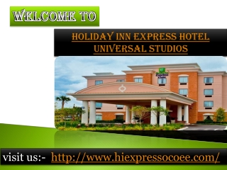 Holiday inn express hotel universal studios