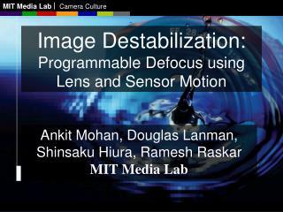 MIT Media LabCamera Culture