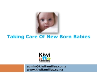 Taking Care of Babies - Kiwifamilies.co.nz
