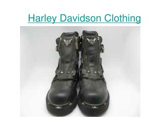 Harley Davidson Motorcycle clothes