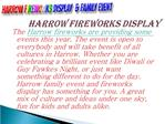 Best Fireworks Lighting Experience at Harrow Fireworks Displ