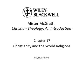 Chapter 17Christianity and the World Religions