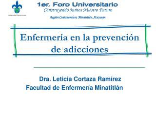 Enfermería en la prevención de adicciones
